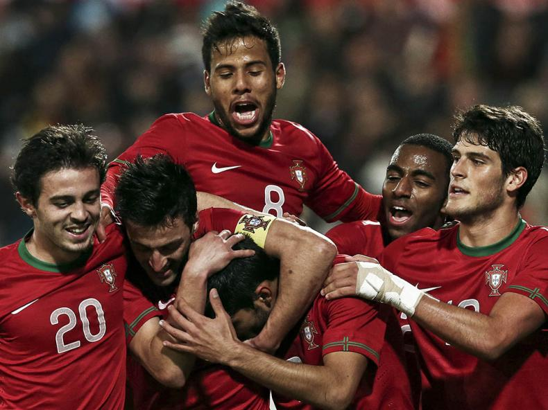 Portugal U-21 vs Macedonia March 2014