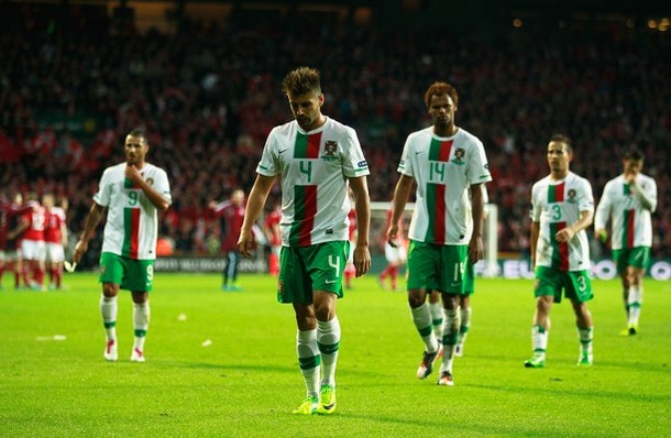 This was the scene the last time Portugal traveled to Denmark in qualification