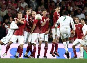 Denmark vs Portugal 2009 - Ronaldo