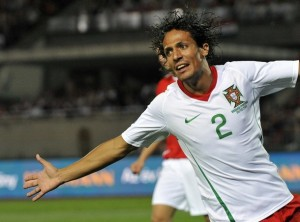 Portugal vs Hungary 2009 - Bruno Alves
