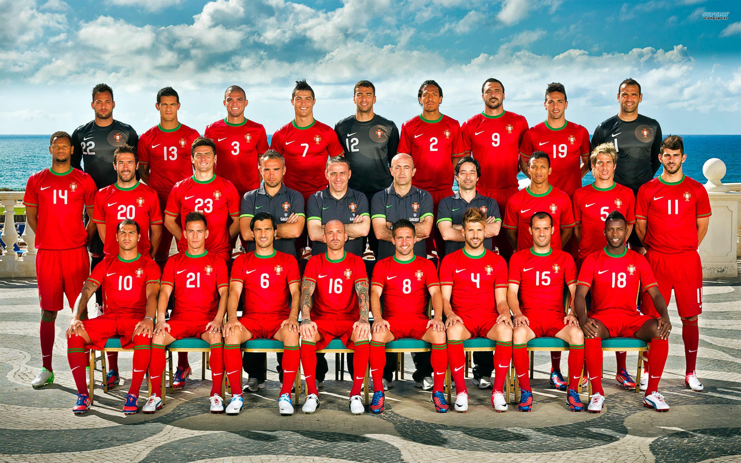Hilo de la selección de Portugal Euro-2012