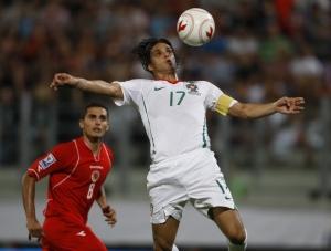 Portugal vs Malta - Nuno Gomes