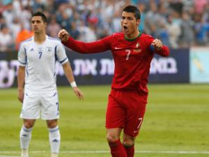 Ronaldo - Israel vs Portugal 2013