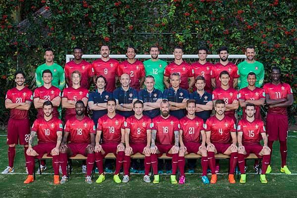 Portugal - World Cup 2014 Team Photo