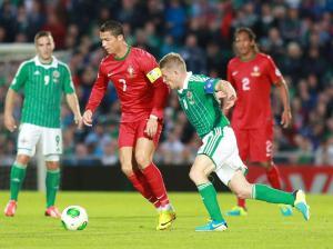 Ronaldo - Northern Ireland vs Portugal