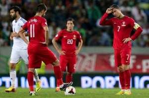 Portugal vs Israel - Josue, Nelson Oliveira, Ronaldo