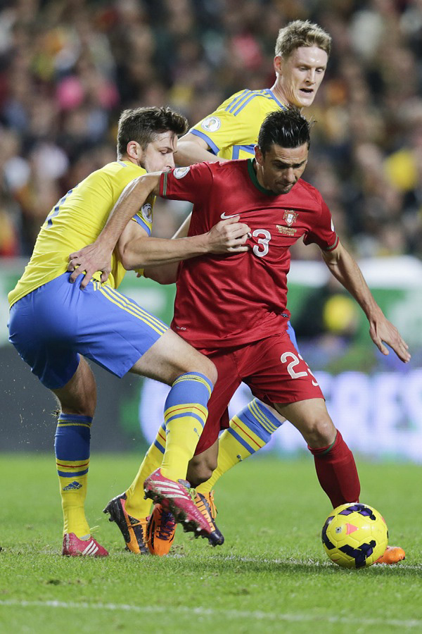 Portugal vs Sweden - Helder Postiga