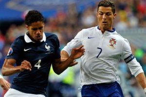 Portugal vs France - Ronaldo