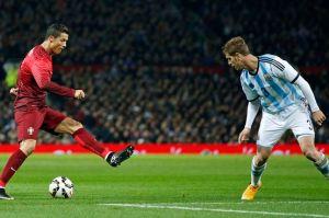 Ronaldo - Portugal vs Argentina