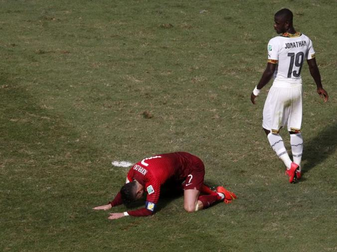 Cristiano Ronaldo - Portugal V Ghana