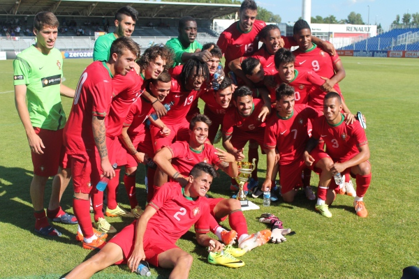 Portugal U-20s Third Place Toulon 2014