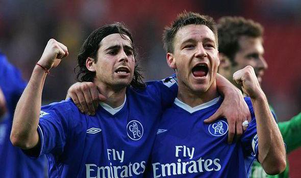 Tiago Mendes-Chelsea 2004-2005