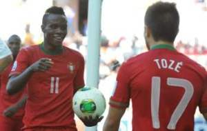 Bruma and Toze - Portugal vs Cuba - 2013 U-20 World Cup