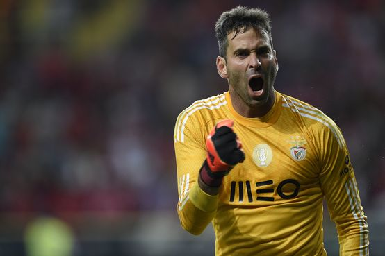 Artur played a huge part in Benfica's win. Photo Andre Alves/ASF