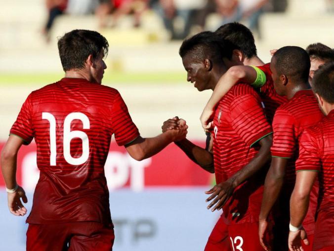 Portugal vs Azerbaijan - U21 qualifying 2014
