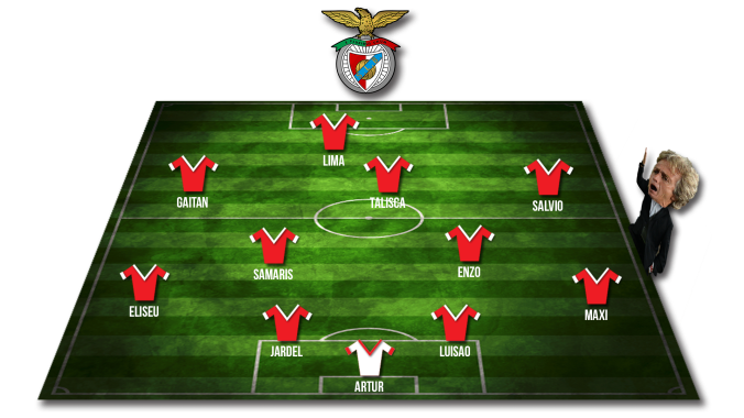 Benfica-Starting-Line-up