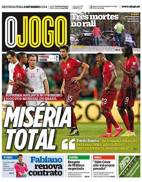 Post Portugal 0-1 Albania