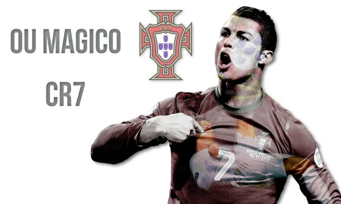 Cristiano Ronaldo - by Orlando Mac