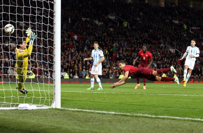 Raphael Guerreiro - Portugal vs Argentina