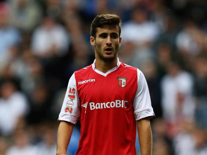 Rafa Silva was hugely impressive for Braga against Pacos Ferreira. Photo: Getty Images