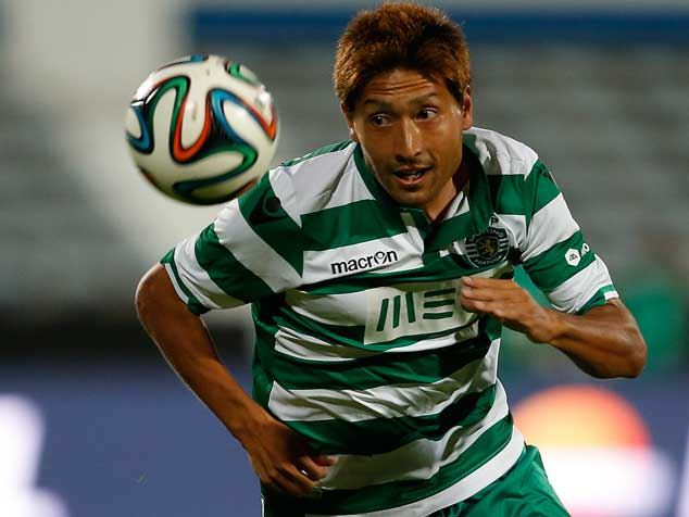 Tanaka's last-minute goal gave a visiting Sporting side a 1-0 victory over Braga.