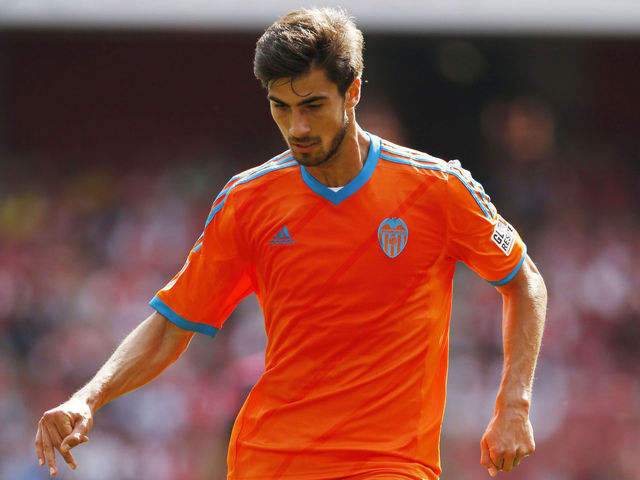 Andre Gomes has been a revelation this season for Valencia. Photo: John Sibley / Reuters