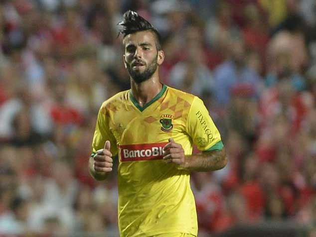 Sergio Oliveira was instrumental in Pacos de Ferreira's win over league-leaders Benfica.