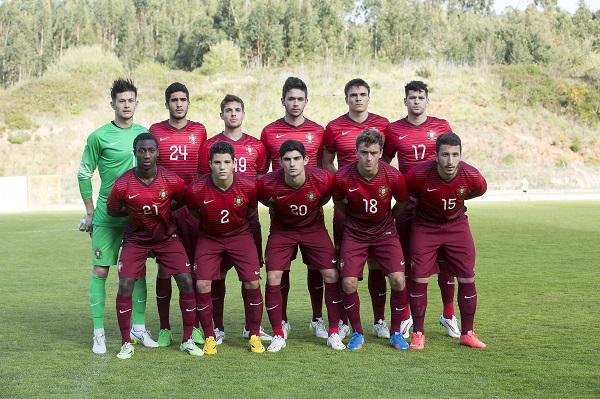 Portugal U20 vs Uzbekistan - 2015 friendly