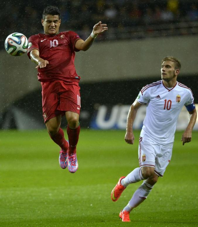 Rony Lopes in action last summer for the Portugal U-19s