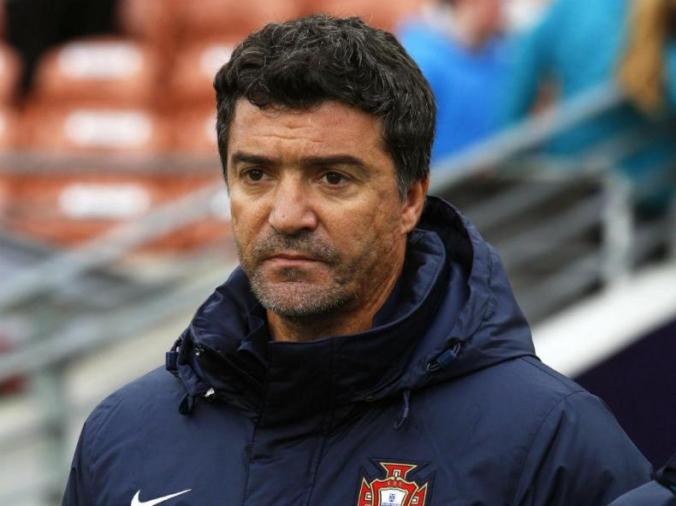 Portugal U-20 coach Hélio Sousa, seen here, led the team to the quarterfinals of the 2015 U-20 World Cup.
