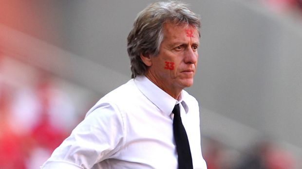 Jorge Jesus, seen here as Benfica's coach, has taken over at Sporting