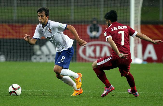 Francisco Ramos, pictured left, is one of a number of players to make the step up to the U-21s