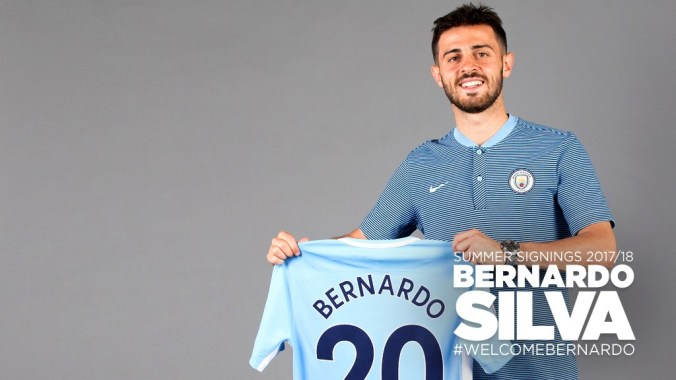 Bernardo Silva - Man City presentation