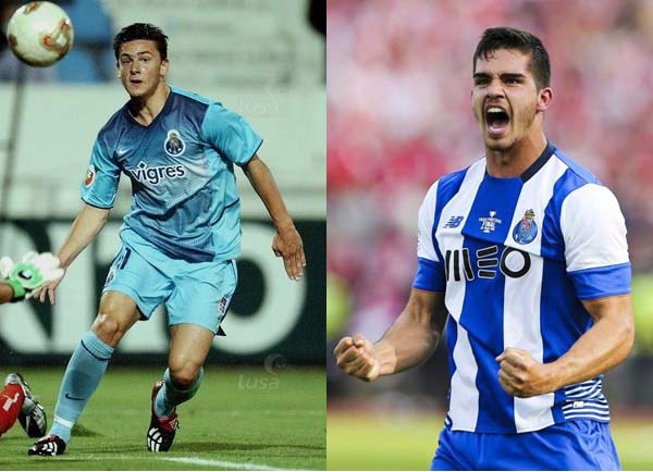 Helder Postiga and Andre Silva